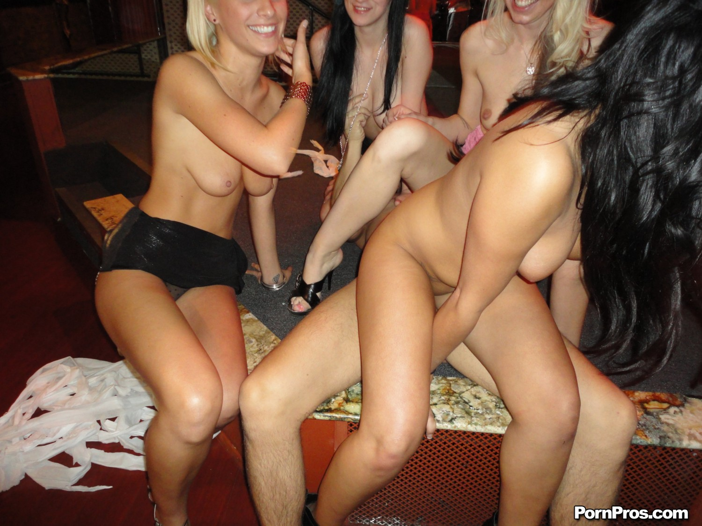 on lap Group girls nude girls