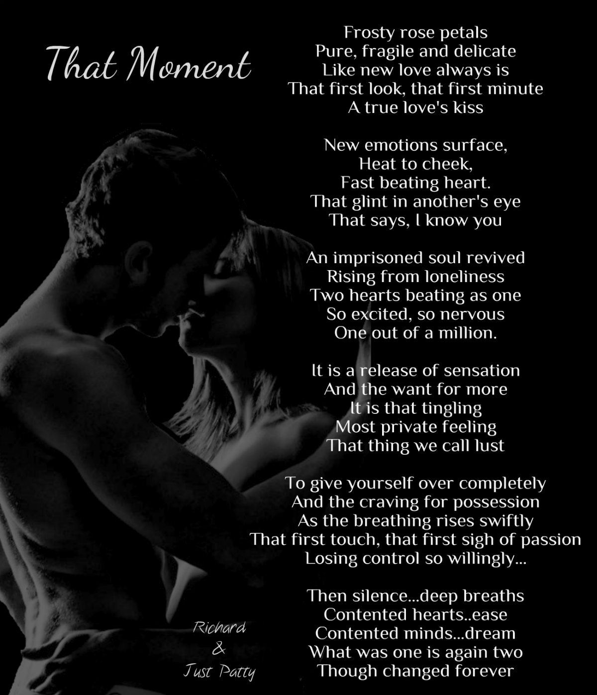 is poems mine Erotic body your