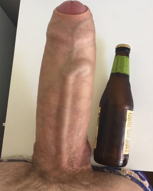 bottle beer Big cock