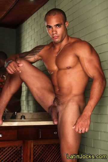 gay muscle studs Latino