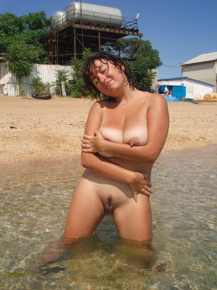 nude women beach on mature Naked