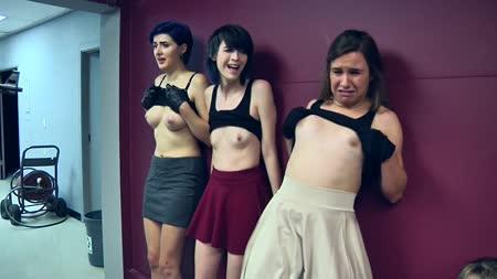 pantyhose Multiple girls