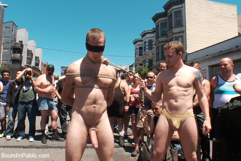 naked public humiliation Tied