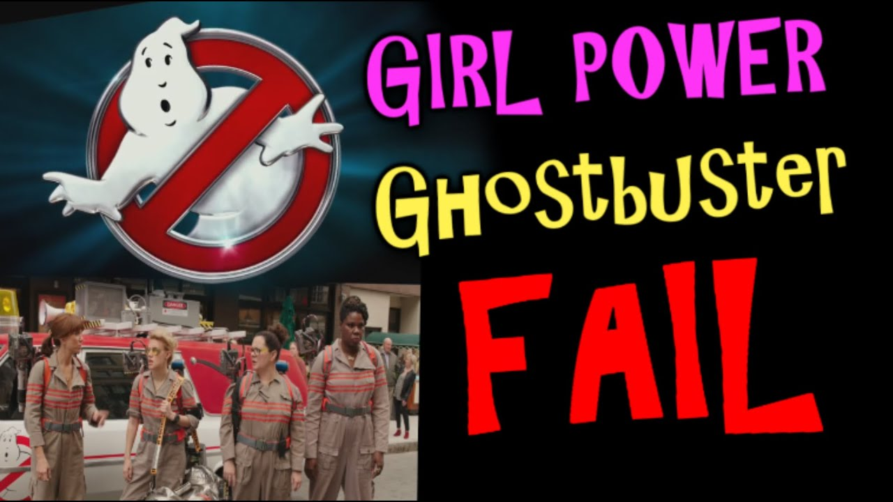 girl Ghostbusters ghost