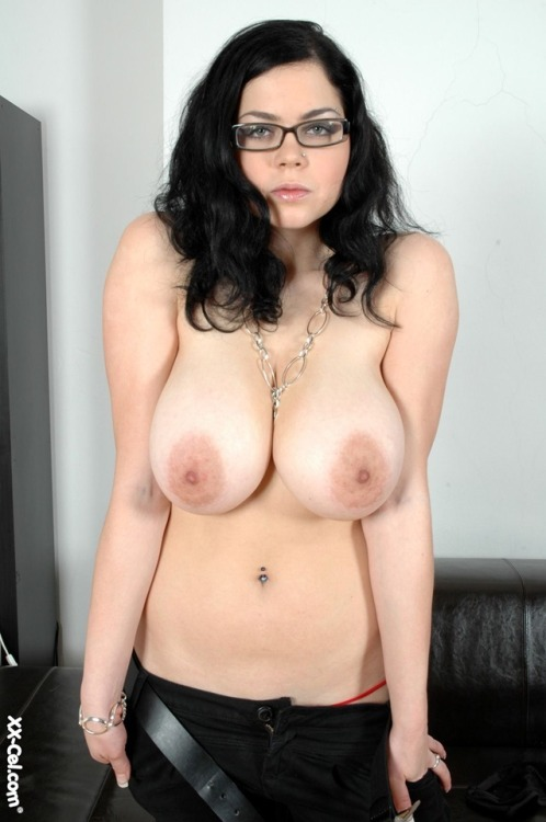 tits big girls brunette with Naked