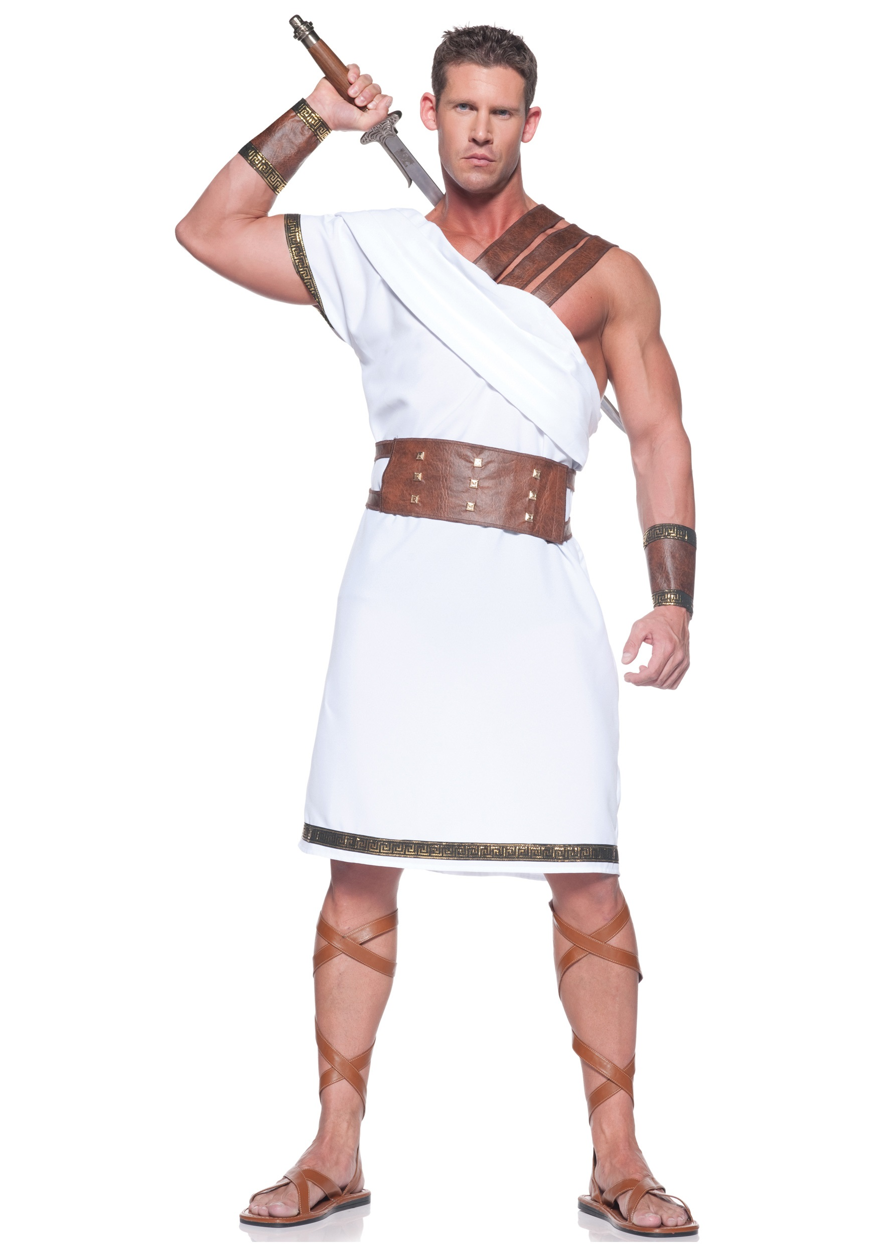 warrior costume Greek goddess