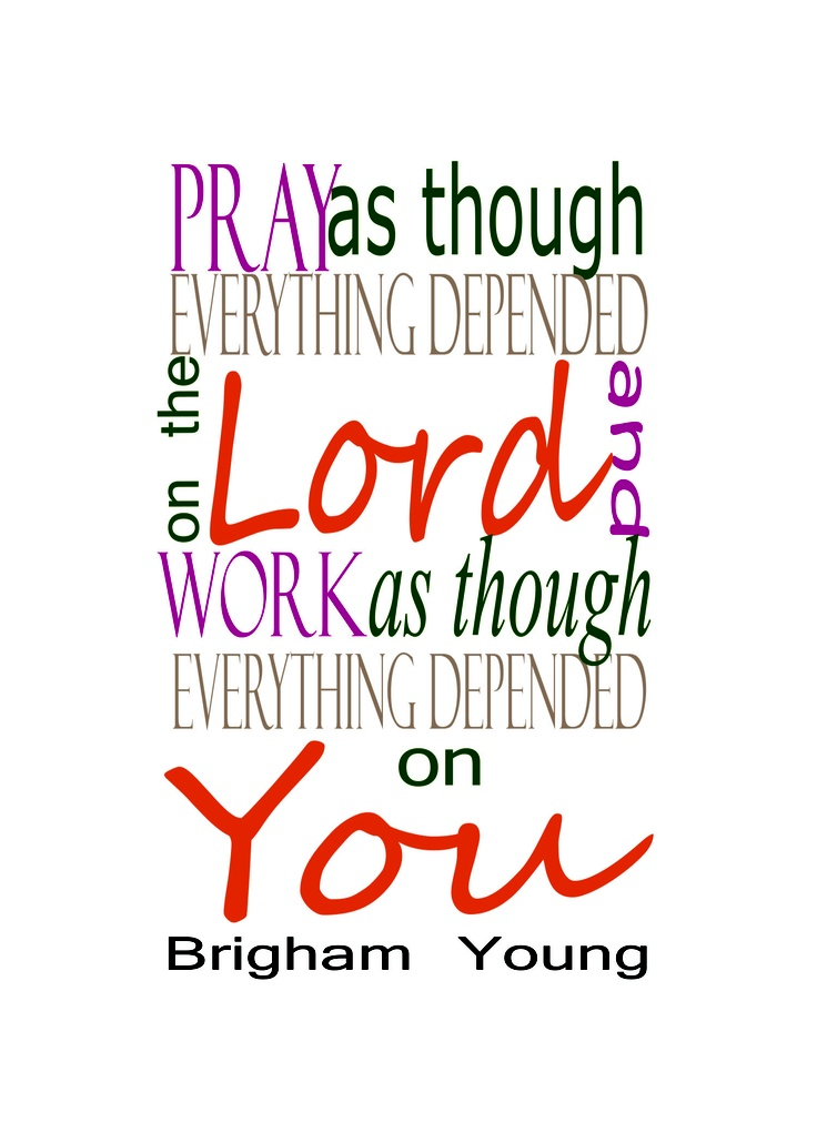 young Quote from brigham