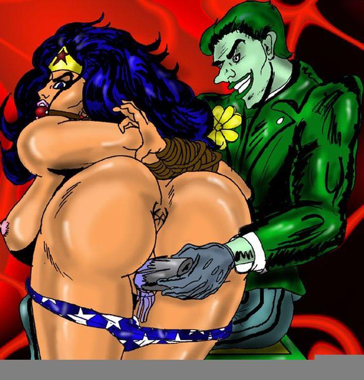 Batman and wonder woman cartoon porn