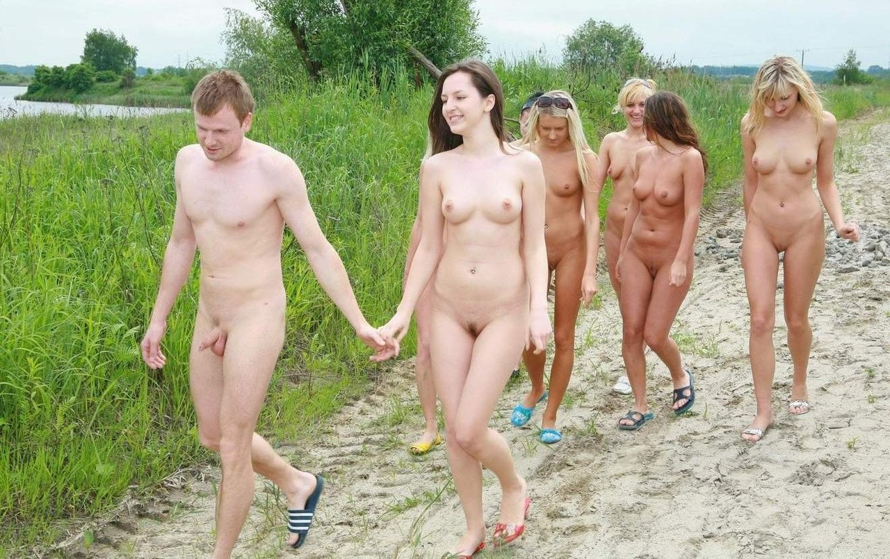 nudist photo Family beach
