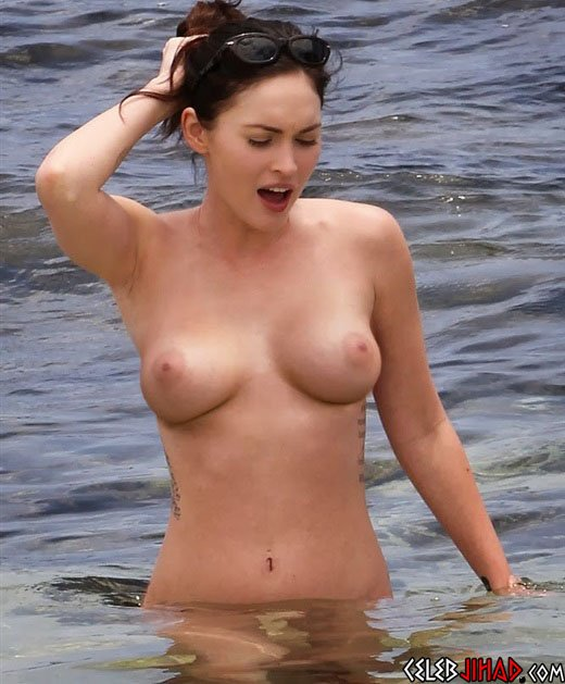 nudes celebrity fox Megan fake