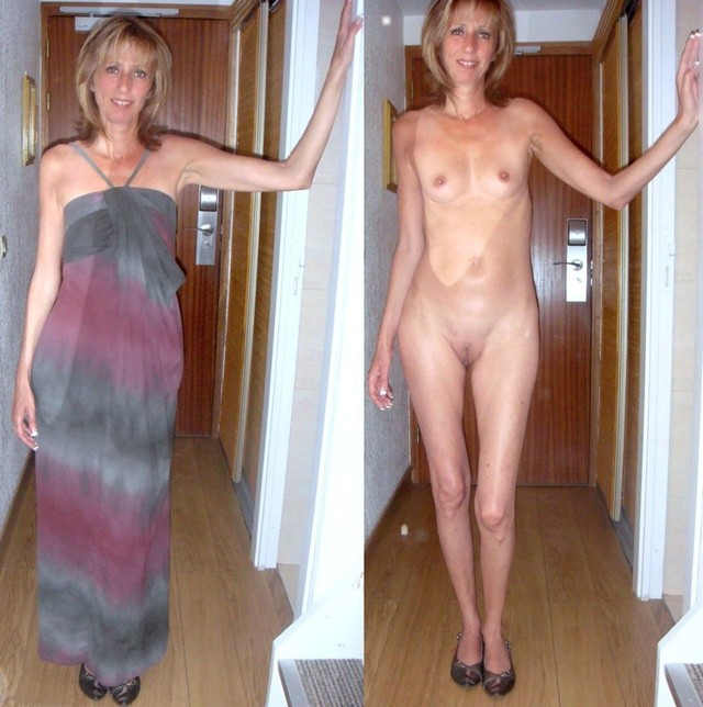 Pictures mature dressed undressed