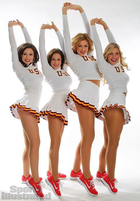 song usc Cheerleaders girls malfunction