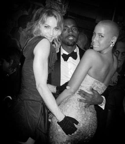 rose nude west amber Kanye