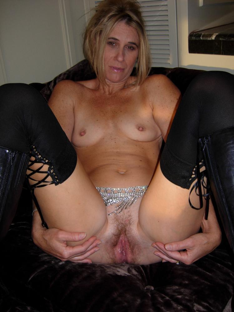 Wife stockings dress
