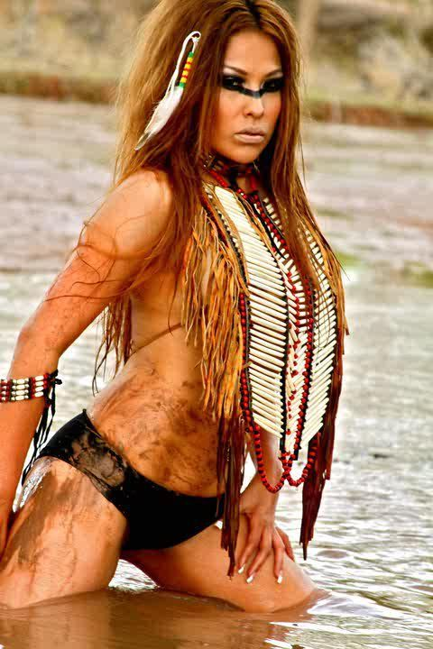 nude Beautiful navajo women