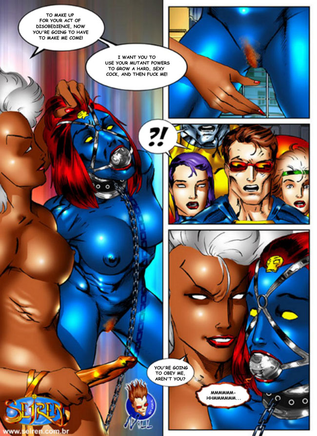 Think, that X men mystique porn speaking