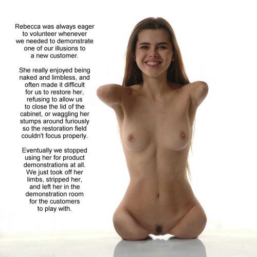 girl Nude limbless