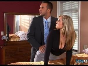 office sex Mature woman