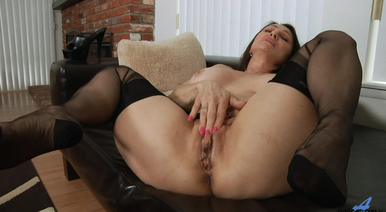 woman stocking mature Sexy