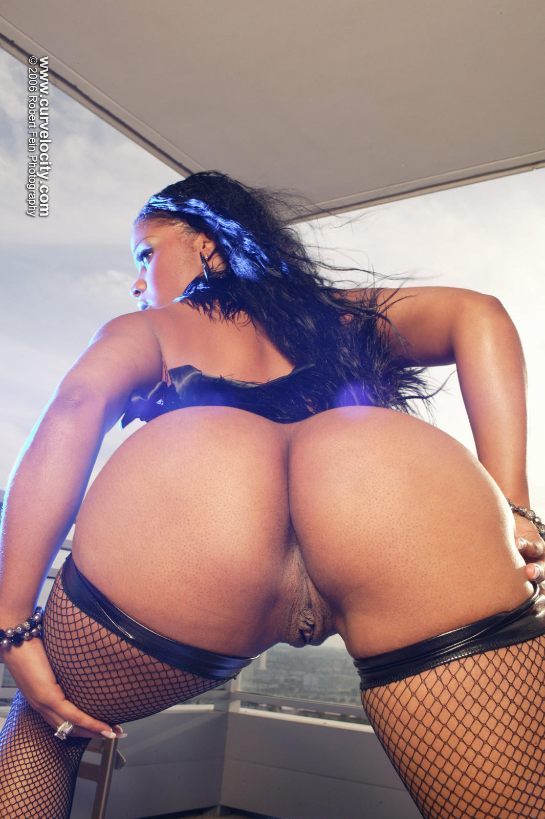hip Big hop booty black