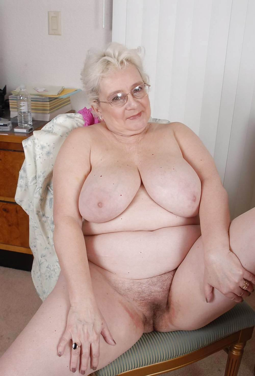granny naked Senior