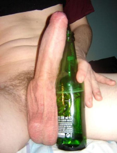 bottle beer Big cock