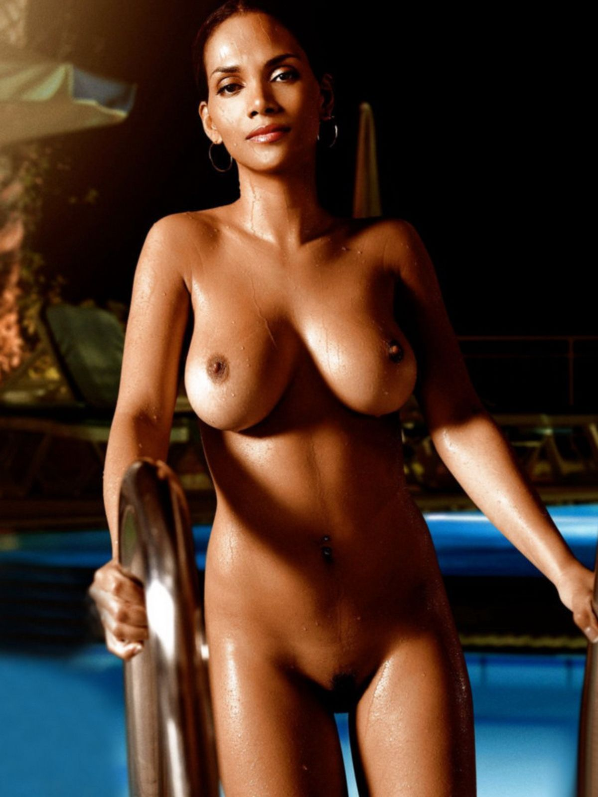 naked Halle berry actress