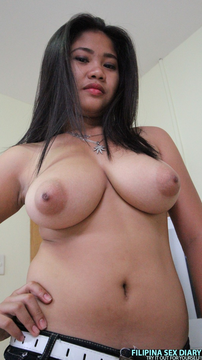 filipina girl boob Big
