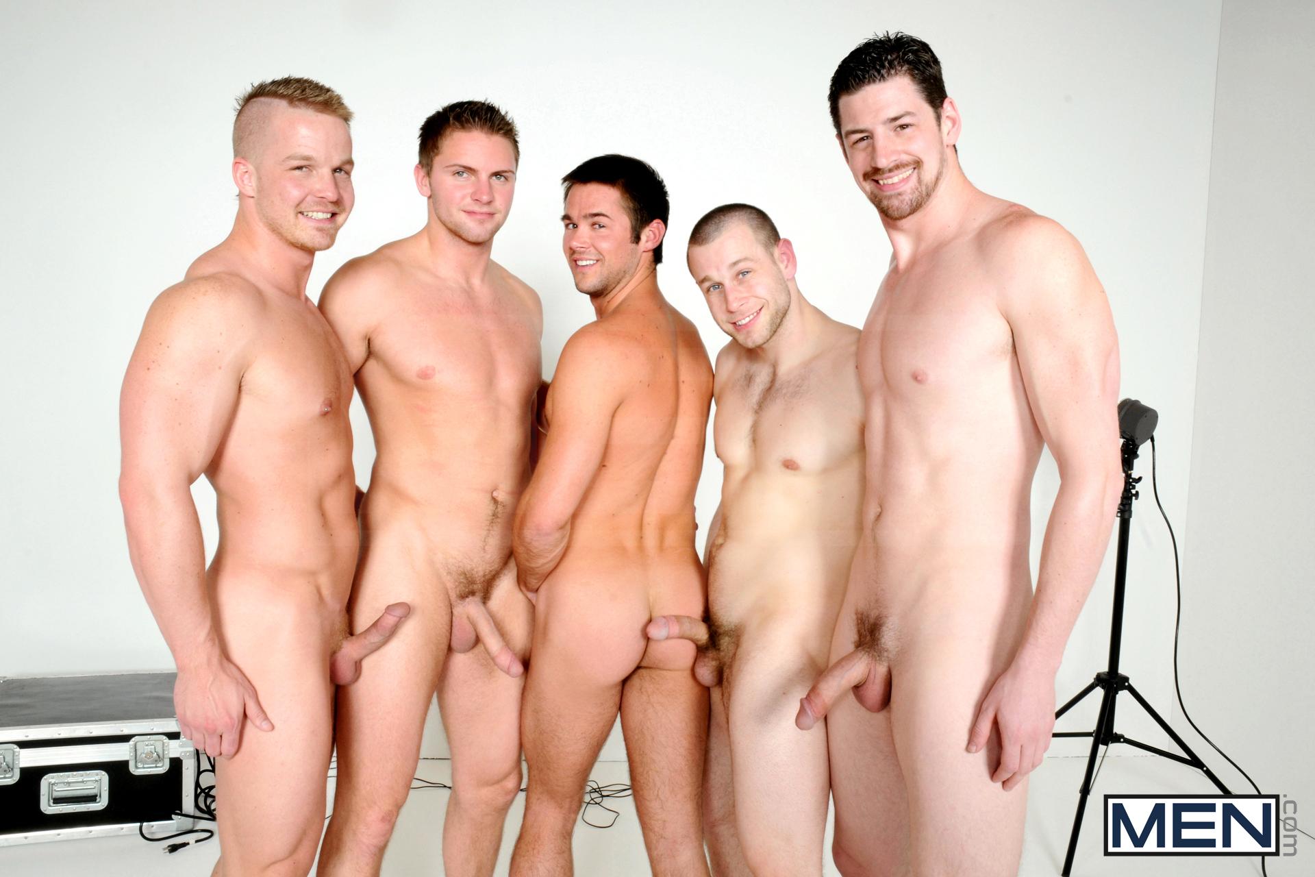Naked men groups are mistaken