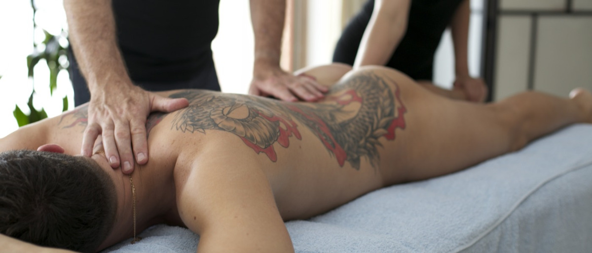 nude massage Erotic couples