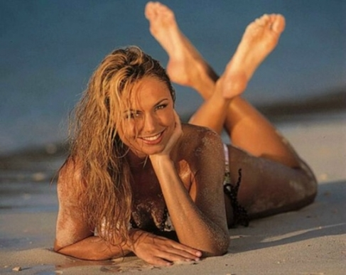 wrestling Stacy keibler