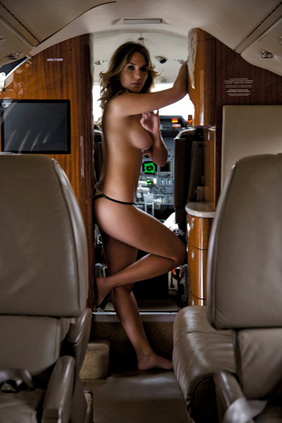 real nude Airline stewardess