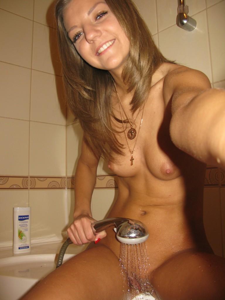 shot Real nude self