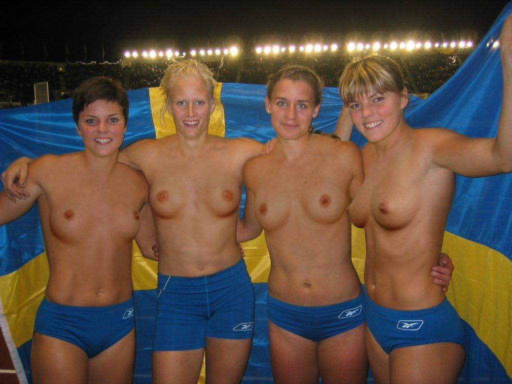 soccer Naked players swedish