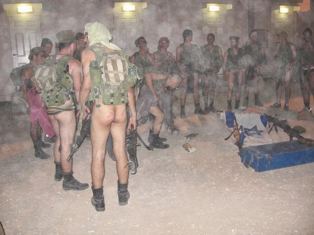 sex soldiers israeli Nude women