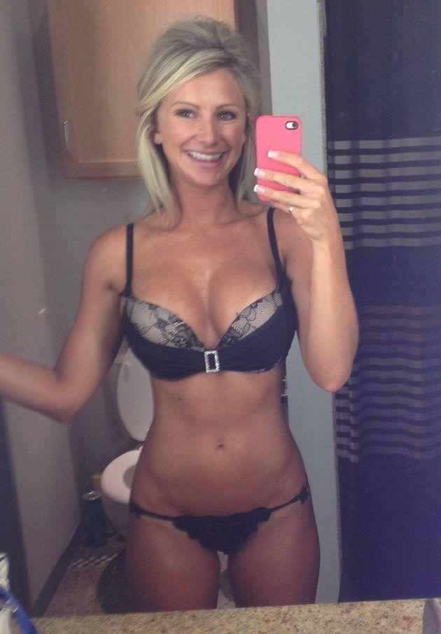 selfies lingerie Curvy women