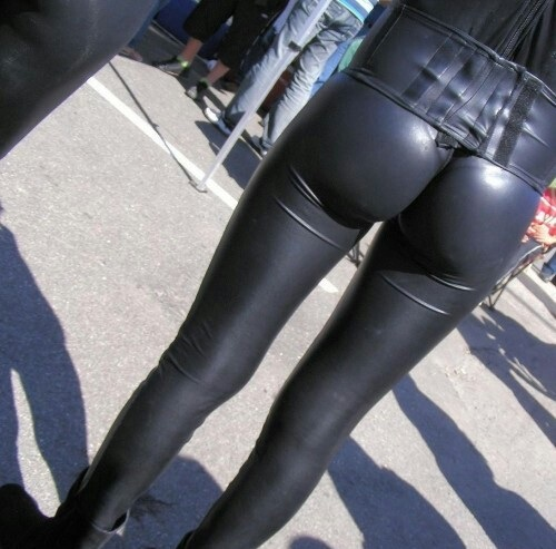 leather tight Asses pants in