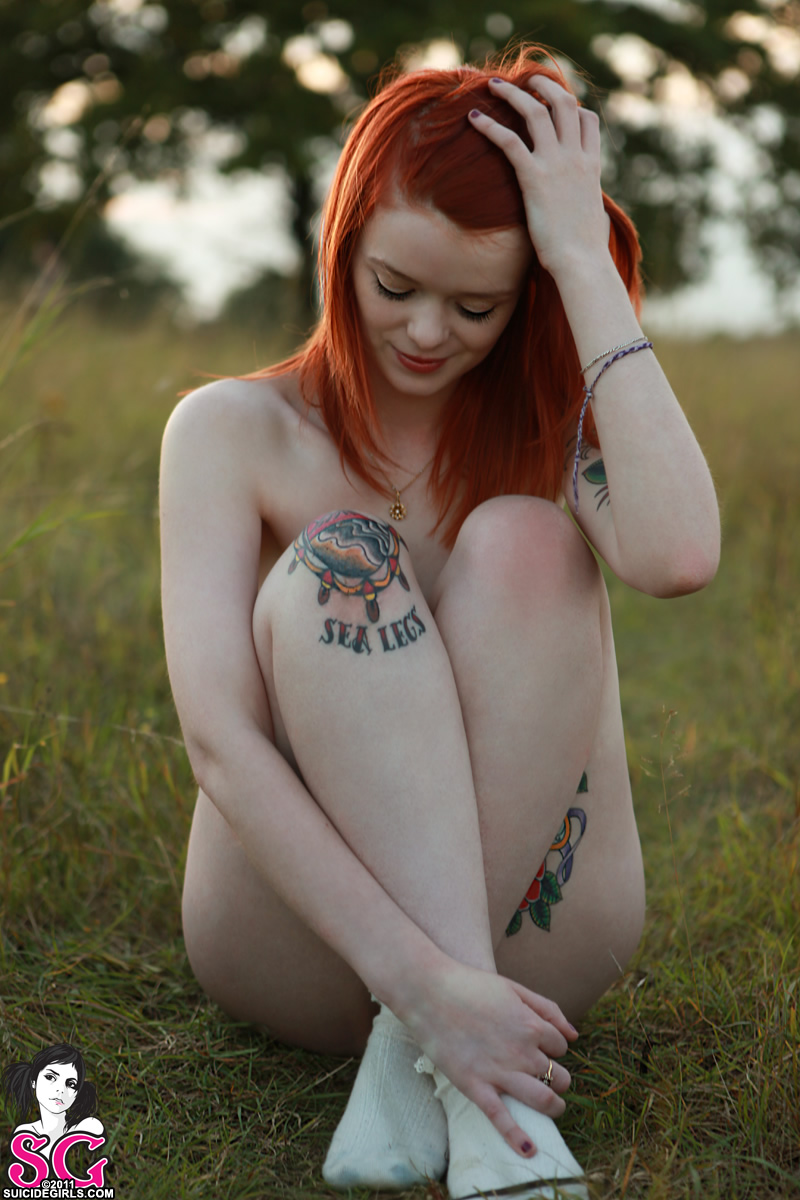 hair suicide nude Red girls