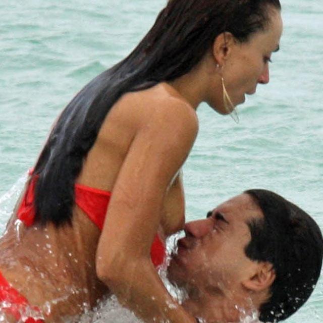 beach slip Voyeur nipple