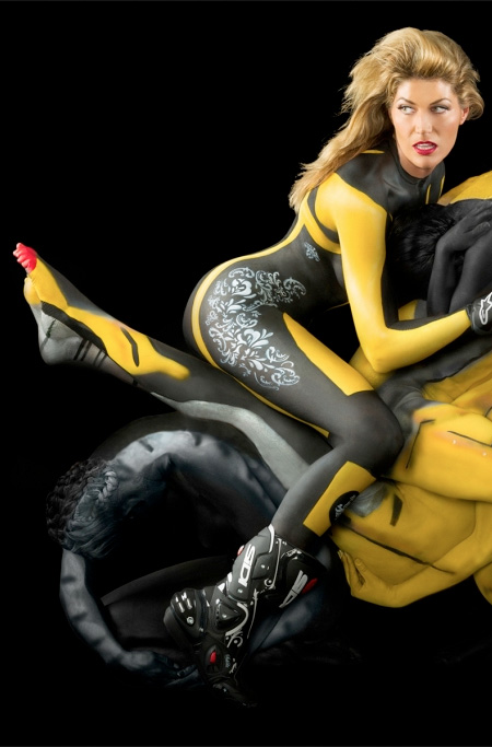 painting Motorcycle body