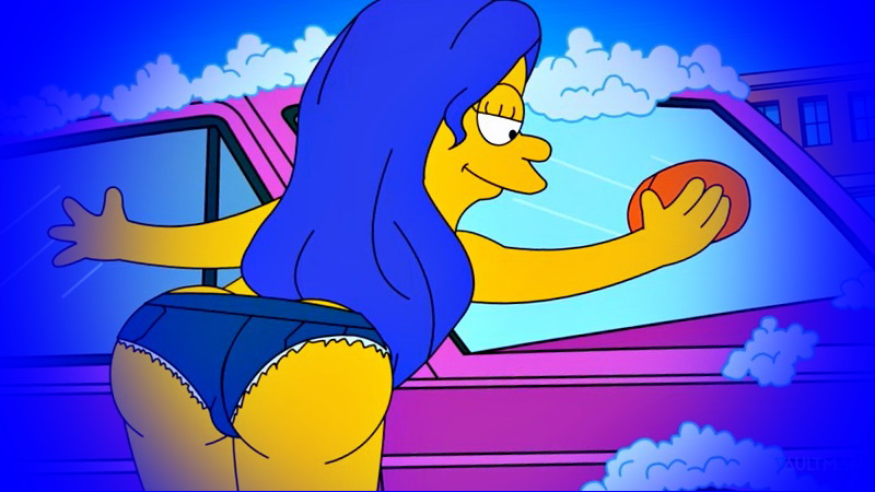 simpson naked boobs Marge