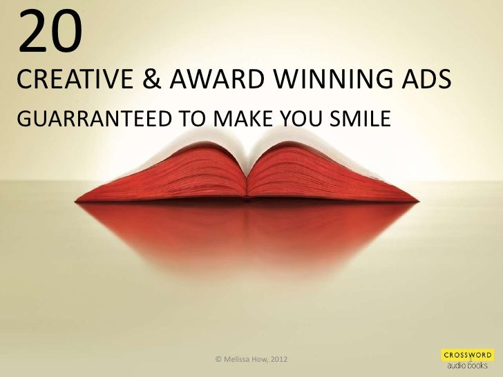 ad Award winning print