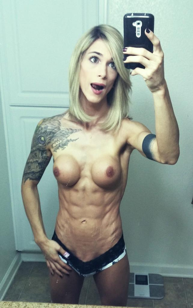 shemale tranny Muscular