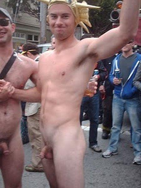 nude boys Public