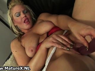 blonde milf mom cock Hairy love