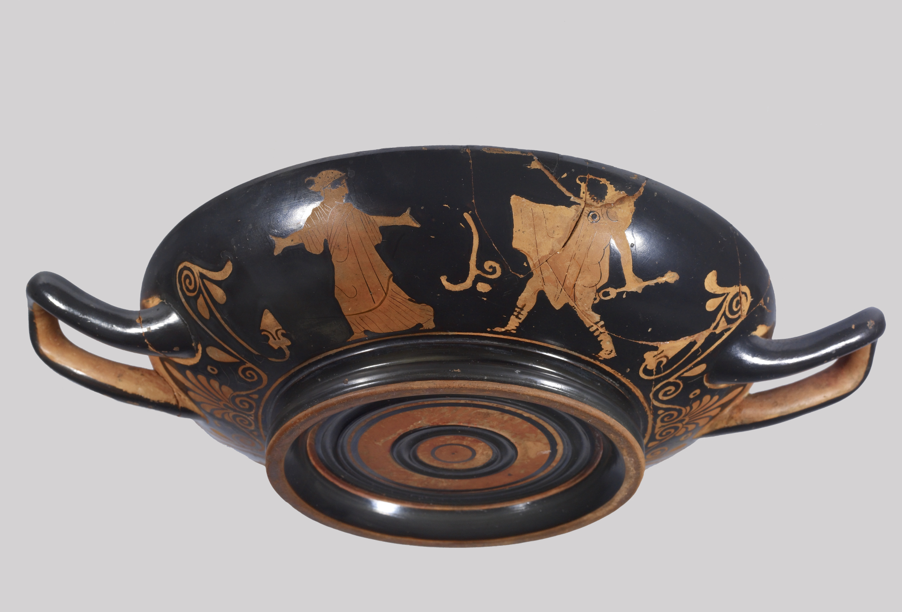 pottery greek Red figure