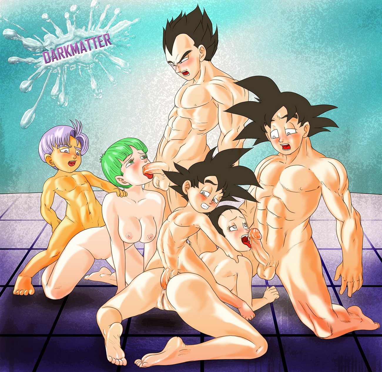 dbz goku and chichi sex