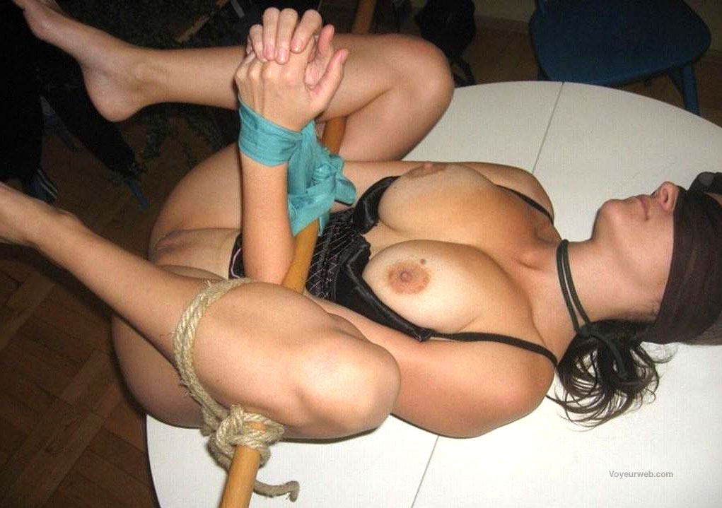 Homemade amateur bondage sex