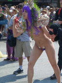 girl Naked mermaid