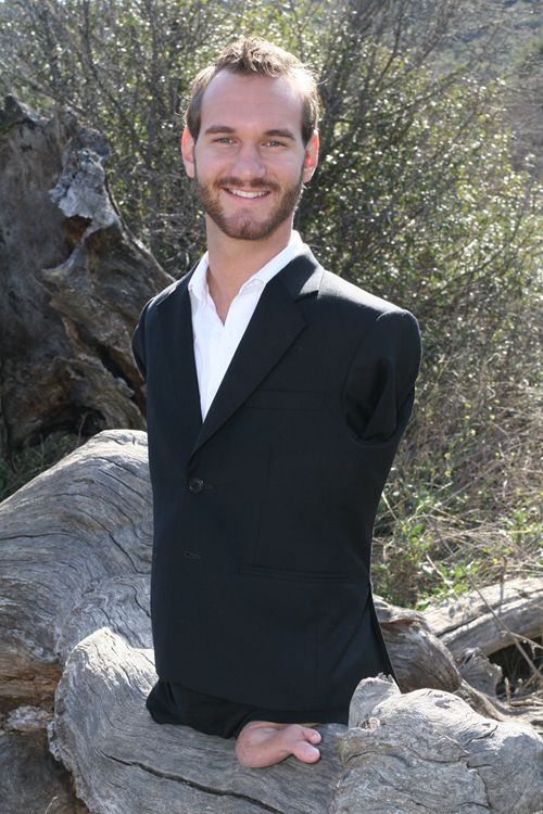 Limbs nick man with vujicic no